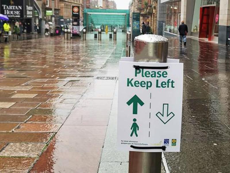 Keep Left pilot for City Centre precincts