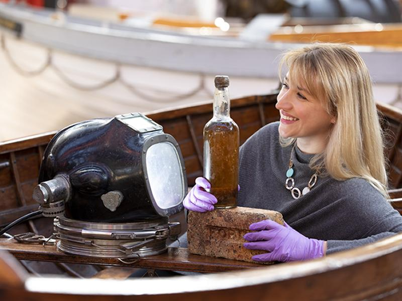 Scottish Maritime Museum bids successfully for eighty year old bottle of Whisky