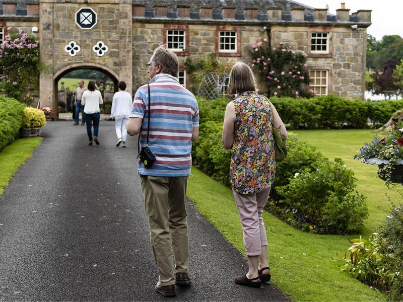 Scotland's Gardens Scheme Open Garden: The Carriage House