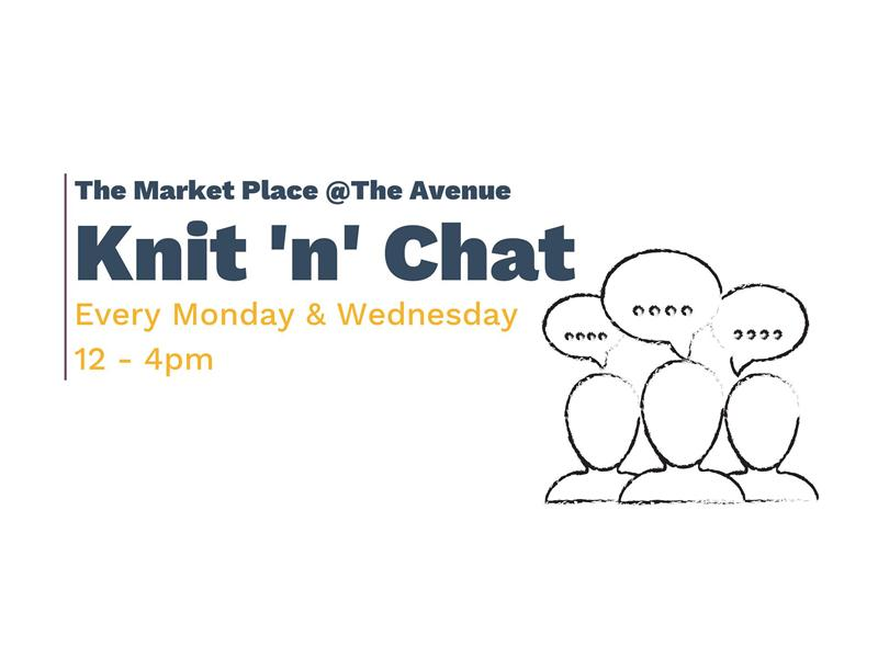 The Market Place Newton Mearns: Knit 'n' Chat
