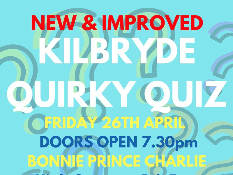 Kilbryde Hospice Quirky Quiz