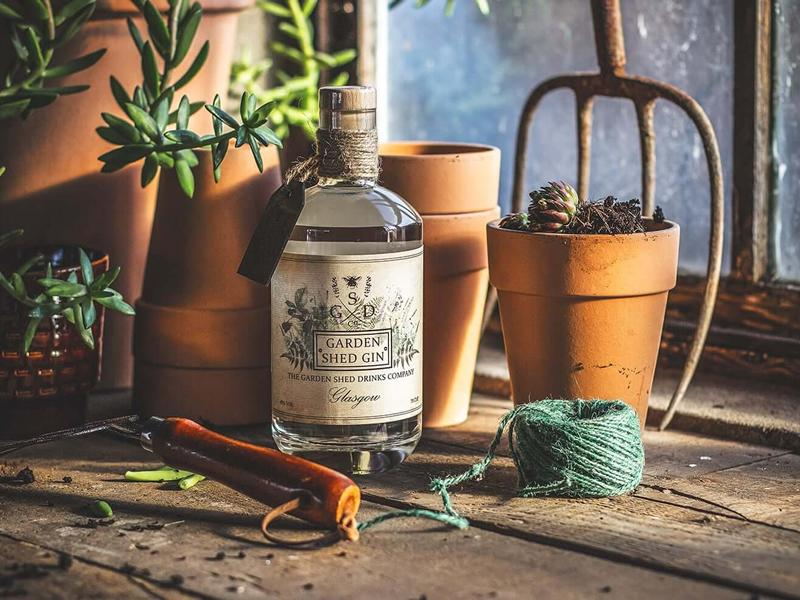 Free in-store tasting of Garden Shed Gin