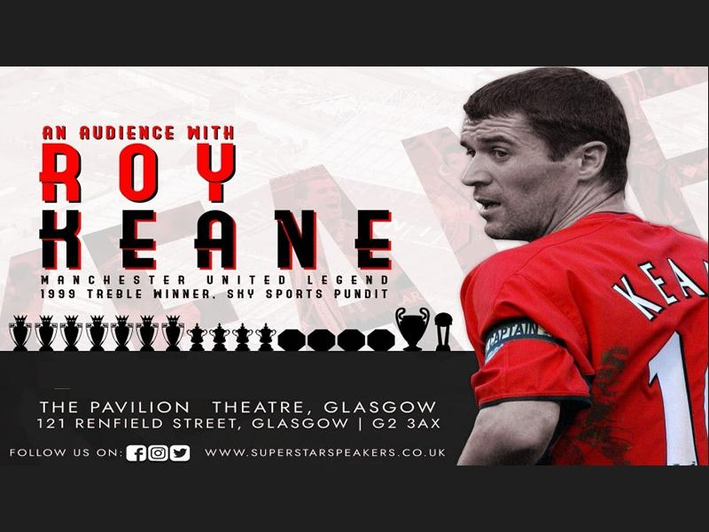 An Audience With Roy Keane - RESCHEDULED DATE