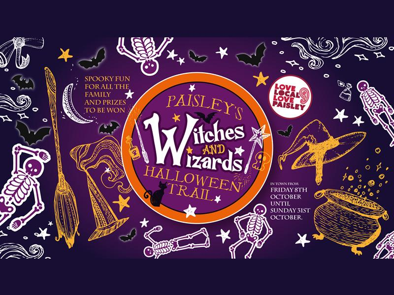 Paisley's Halloween Witches and Wizards Trail