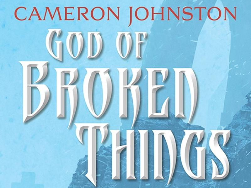Cameron Johnston launches The God Of Broken Things