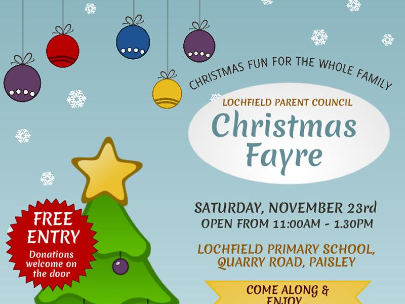 Lochfield Primary Christmas Fayre