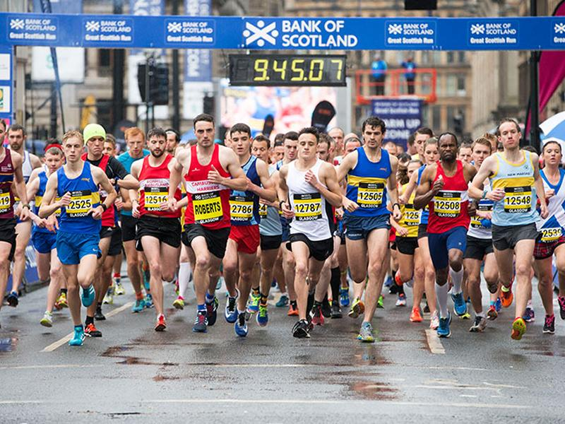 Bank of Scotland Great Scottish Run - CANCELLED