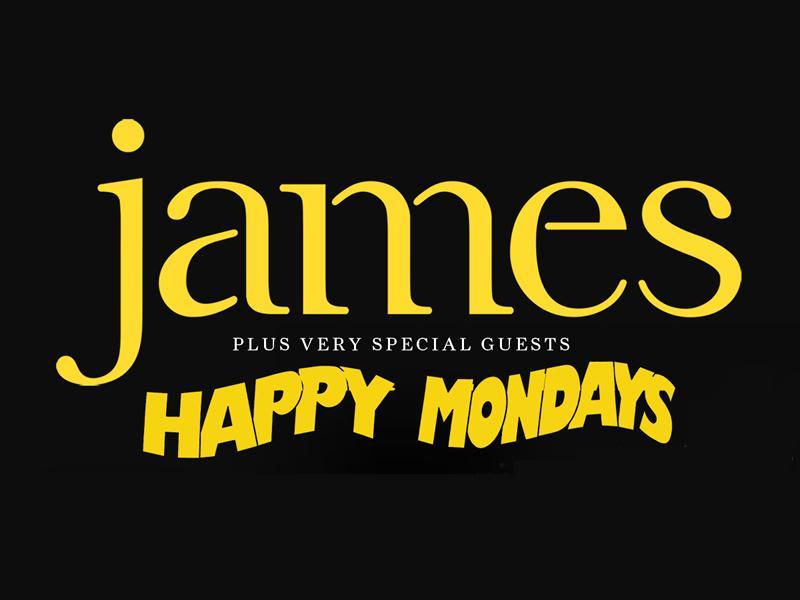 James plus special guests Happy Mondays
