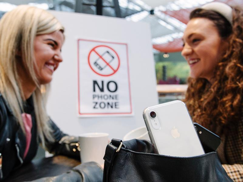 St. Enoch Centre launches No Phone Zone