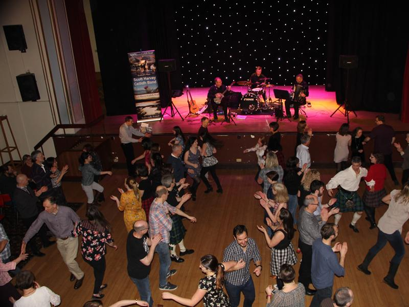 Ceilidh Dance with Scott Harvey Ceilidh Band