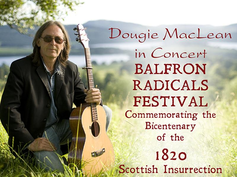 Dougie MacLean in Concert : Balfron Festival - CANCELLED