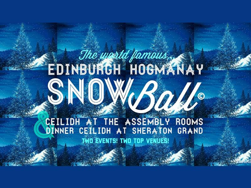 Edinburgh Hogmanay Snow Ball Ceilidh 2019