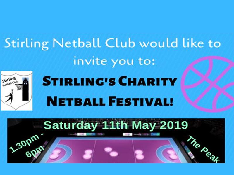 Stirling Netball Charity Event