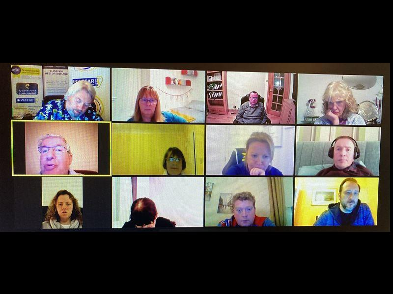 Invizear Online Tinnitus Support Group Meeting