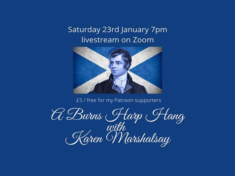 A Burns Harp Hang with Karen Marshalsay