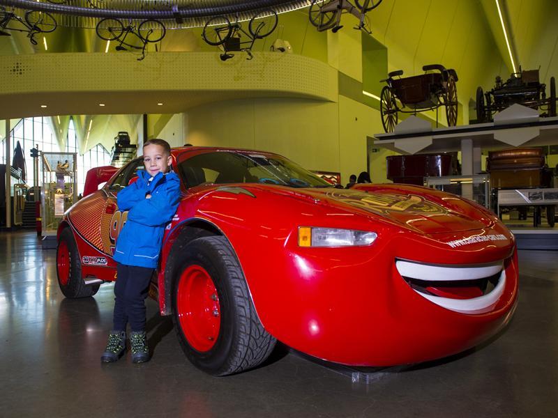 Lightning McQueen, from Radiator Springs to Riverside Museum