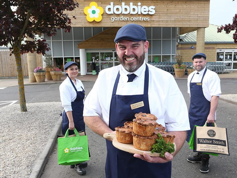 Dobbies welcomes award winning butcher to Edinburgh store