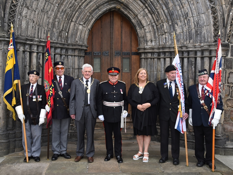 Renfrewshire and Inverclyde come together to mark Armed Forces Day