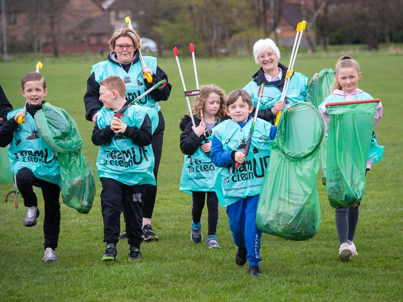 Thousands of inspired volunteers Team Up to Clean Up their communities