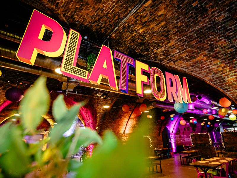 Platform reopens today and is fully booked for its opening month!