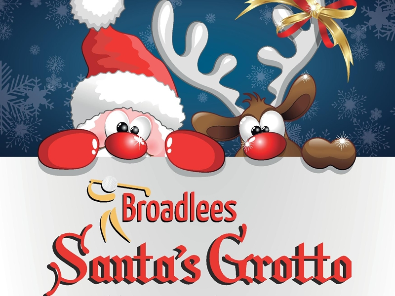 Broadlees Golf Santa's Grotto