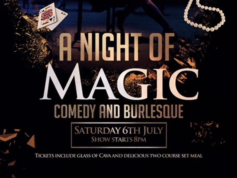 A Night of Magic, Comedy and Burlesque