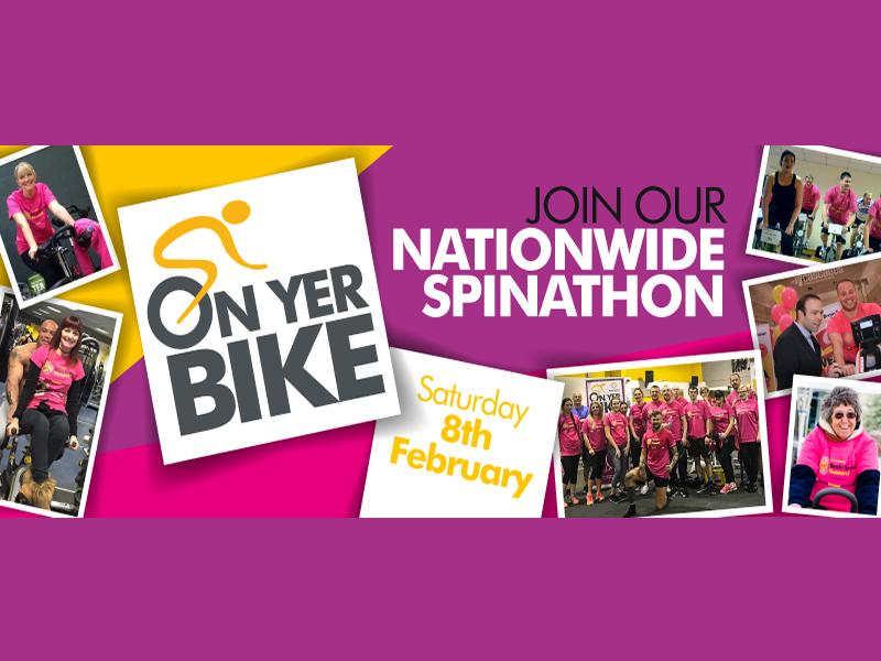 On Yer Bike for Brain Tumour Research