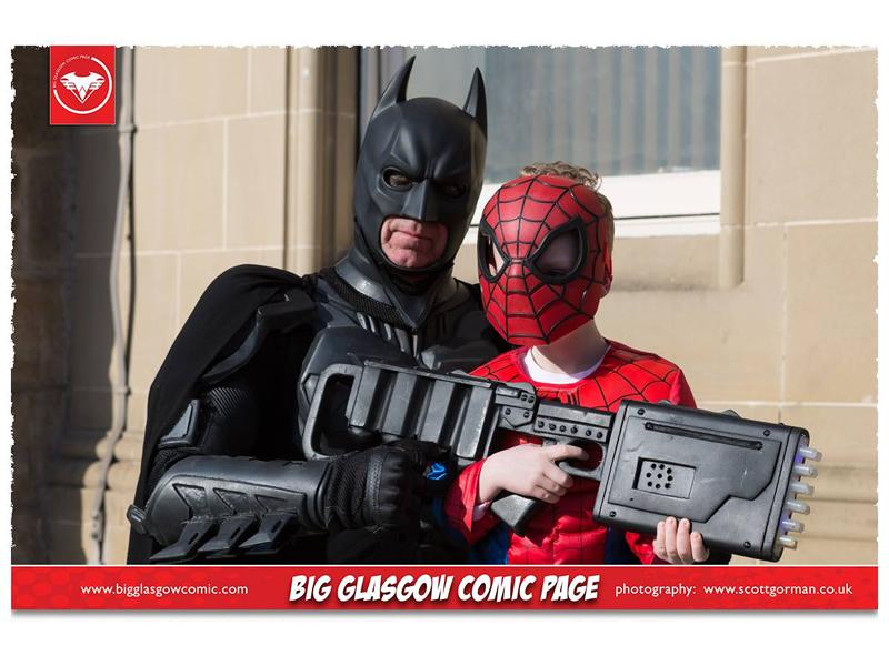 Hit Comic Con returns to Rutherglen