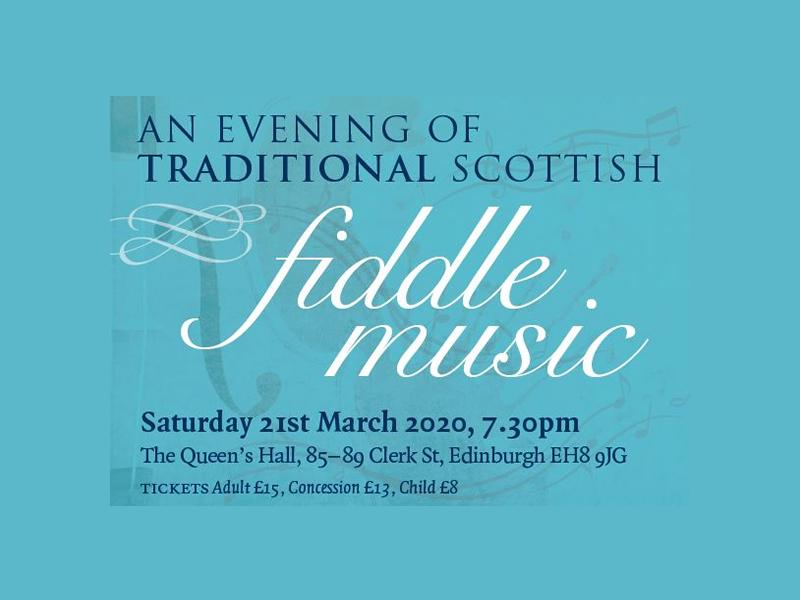 An Evening of Scottish Fiddle Music - CANCELLED