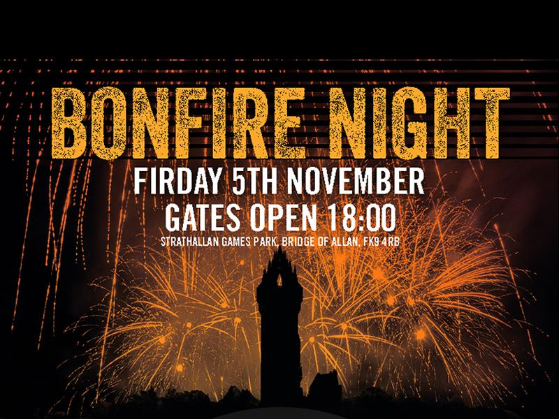 Bridge of Allan Fireworks and Bonfire Spectacular