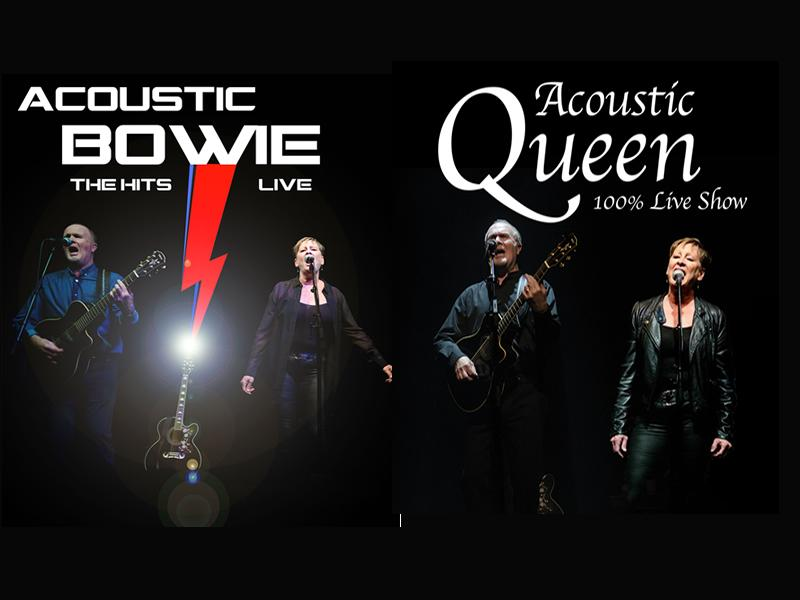 Acoustic Bowie and Acoustic Queen