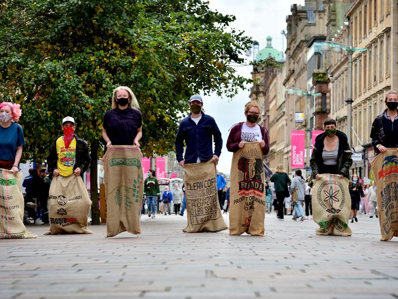 Glasgow Coffee Festival takes to the streets to drive footfall to independent businesses