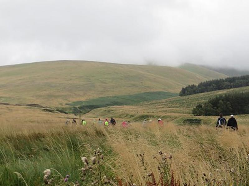 Exploring the hills behind Sheriffmuir Inn, Little Corum and more