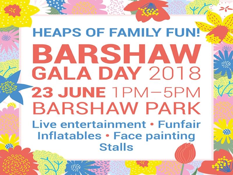 Celebrate summer at Barshaw Gala Day