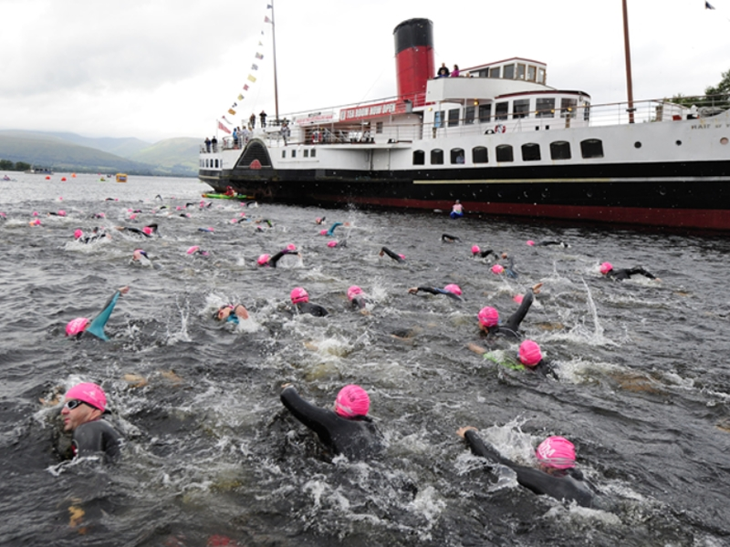 Thousands set to make a splash at The Great Scottish Swim