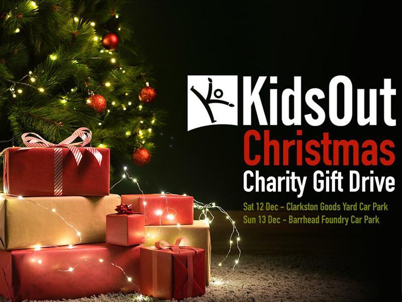 Kids Out Christmas Charity Gift Drive