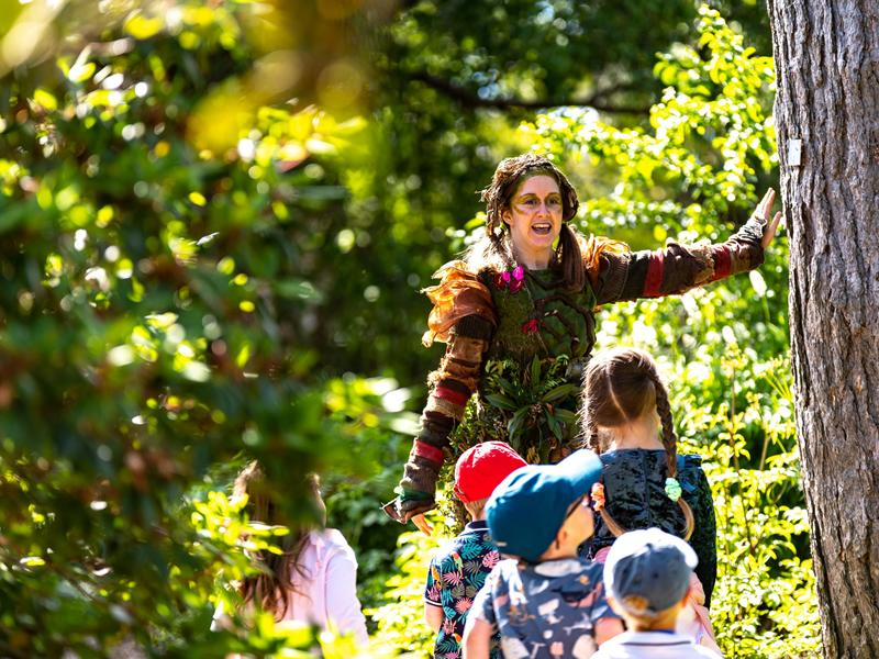 Outdoor theatre experience for kids at Eastwood Park
