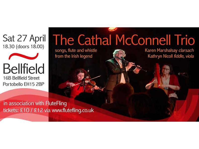 Cathal McConnell Trio