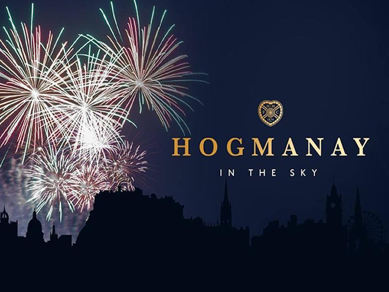 Hogmanay in the Sky