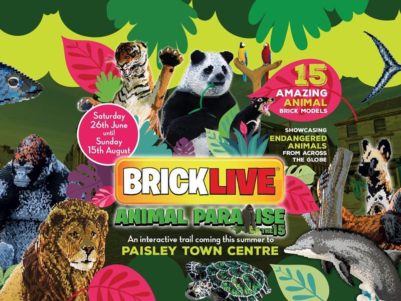 BRICKLIVE Animal Paradise