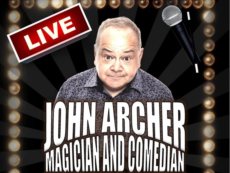 John Archer Magician and Comedian