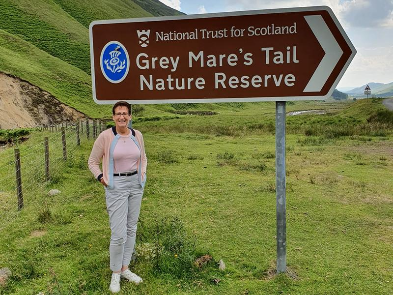 Edinburgh volunteer clocks up the miles on fundraising tour of iconic Scottish locations