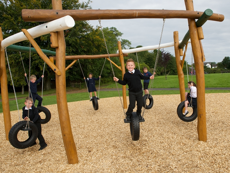 New play area opens as part of million pound investment in Barshaw Park
