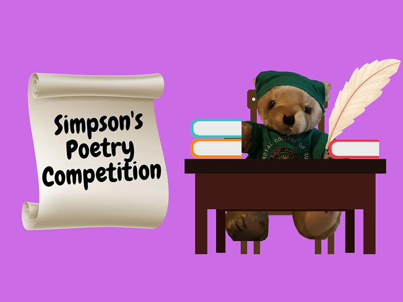 Simpson's Poetry Competition