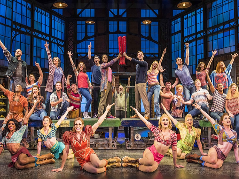 Kinky Boots is strutting into the Playhouse next Christmas