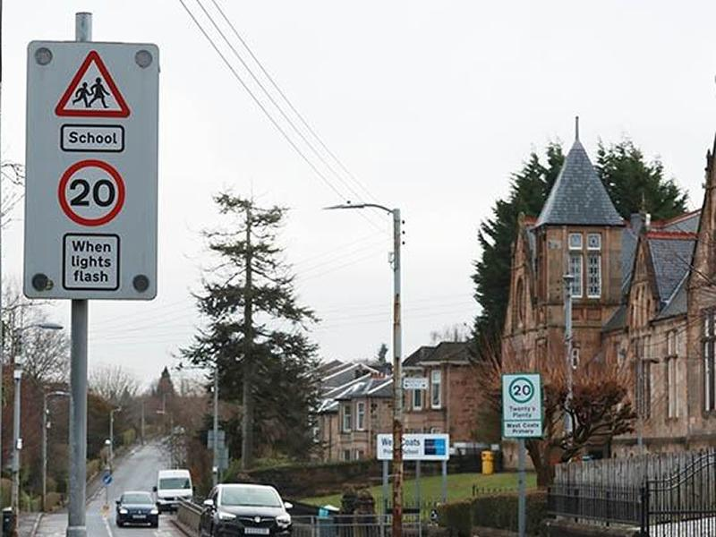 Six town centres in South Lanarkshire introduce 20mph limits