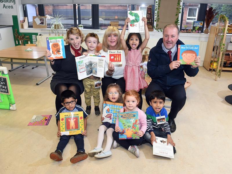 Festival Park Day Nursery pupils benefit from storytelling bursary