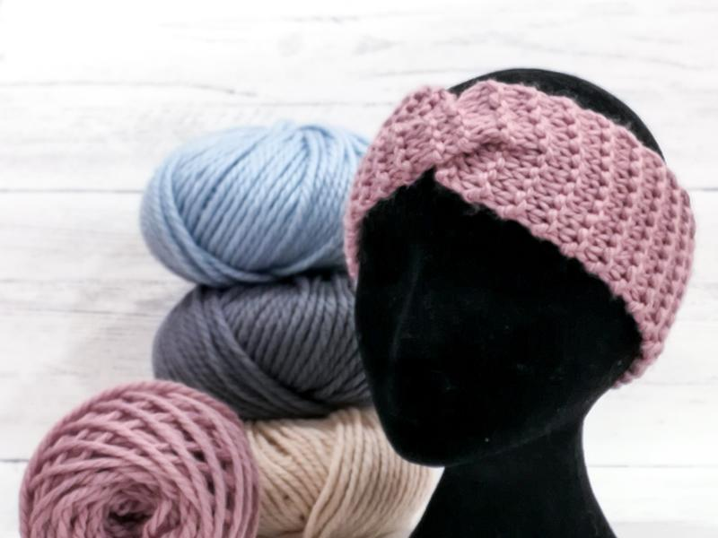 Knitting for Beginners - Make Your Own Chunky Headband