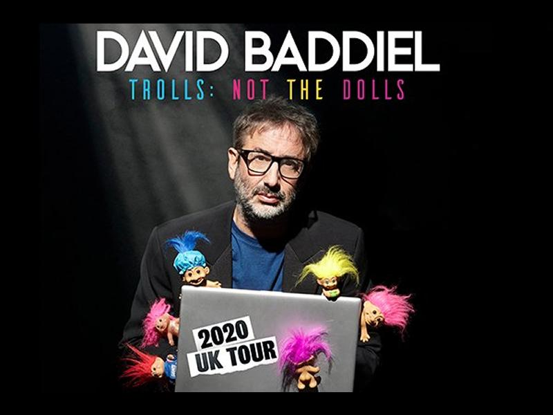 David Baddiel - Trolls: Not The Dolls