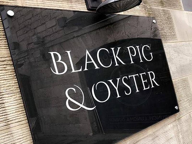 Black Pig and Oyster